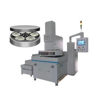 Kejuruteraan resin plastik double side face grinding machine