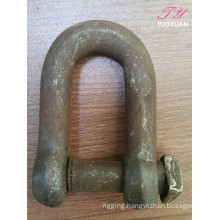 Trawling Square Head Screw Pin Chain Shackle
