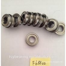Top Quality F688 Miniature Flange Bearing Wheel hub bearing f607zz