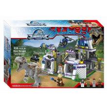 Boutique Edifício Bloco Toy-Dinosaur Escape 01