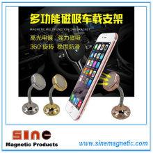 Многофункциональный креативный вращающийся на 360 градусов ленивый магнитный держатель для мобильного телефона для автомобиля