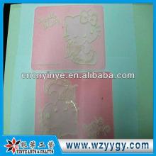 Modificado para requisitos particulares baratos alfombras antideslizante de pvc suave para la promoción