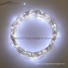 Colores múltiples Estilos múltiples Muchas opciones Mini LED Luces de cadena de alambre de cobre