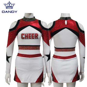 Benutzerdefinierte Sublimation Cheerleading Uniformen