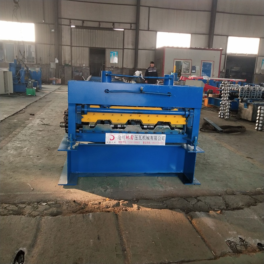 Steel structural 950 Floor deck sheet forming machines