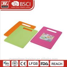 Popular Plastic Cutting Board/ Rectangle Plasitc Cutting Board