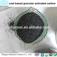 High bulk density coal based granular bulk activated carbon