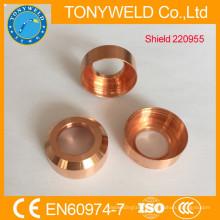 plasma spare parts nozzle cup shield 220955