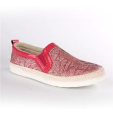 Femmes Chaussures Chanvre Corde Souliers Snc-70005