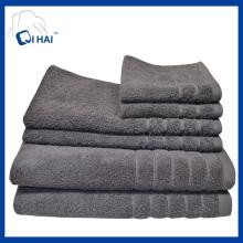 3PCS 5PCS 6PCS Cotton Bath Towel Face Towel Sets (QHT5596)