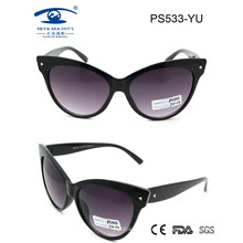 Fashion Butterfly Shape Plastic Sunglasses for Sale