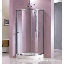 Quadrant Shape Tempered Glass Shower Enclosure with Frame (HR229C)