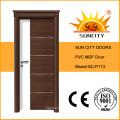 Новый дизайн кухни ПВХ туалет двери (СК-P173)