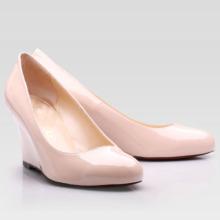 Art- und Weisefrauen-Kleid-Schuh-schwarze Keil-Kleid-Schuhe (Hcy02-045-4)