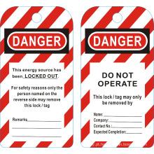 BOSHI BD-P01 Tags de bloqueio de segurança - Não opere! Perigo!