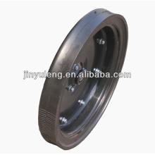 rueda sólida de 16X2.5 semi para sembradora límite estrecho rueda profundo uso