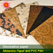 Dekorpapier für Möbelfußböden MDF hpl
