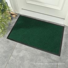 Amazon hot sale indoor outdoor clean dirt trap anti slip front door mat entrance dust foot mat