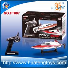 Высокая эффективность feilun FT007 2.4Ghz радиоуправления высокоскоростных гоночных лодках RC игрушка лодки для продажи