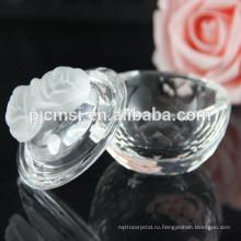 Цветок декоративный маленький Кристалл Коробка ювелирных изделий COM020