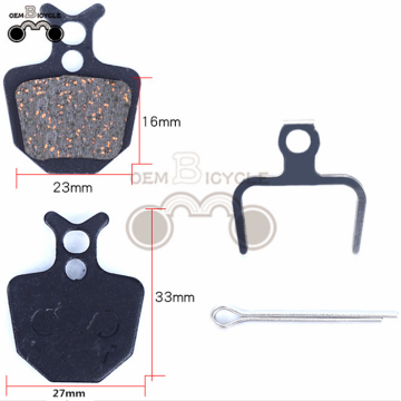 2017 noise free brake pad for mountain bike