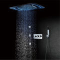 Hot Cold Shower Faucet 58x38cm LED Shower Head