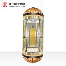 China Fuji Brand Oem  VVVF Cabin Door Machine Observational Elevator Office Building elevator