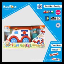Easy touch Ambulance toy car free wheel