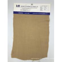 Tissus tissés deux épaisseurs de tissu de viscose / tissus simples de chanvre