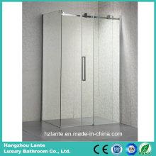 Прямоугольная раздвижная стеклянная душевая комната для отеля и дома (LT-8721A)