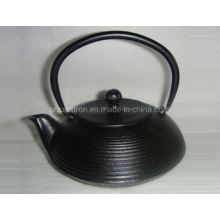 Chinese Hot Sale Black Enamel Cast Iron Teapot with Cups
