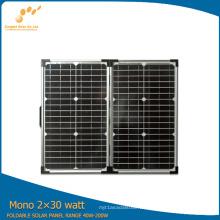 Panel solar portátil de 60 vatios con alta eficiencia (SGM-F-60W)