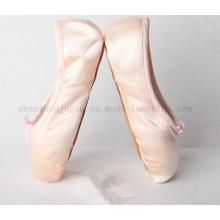 OEM Hot Sale Silk Hard Sole Ballet Dance Pointe Shoes