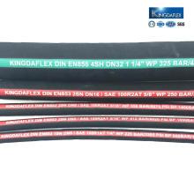 Flame retardant hydraulic hose rubber hose pipe hydraulic hose fitting