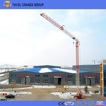 China Qtk20 2ton Modelo Fast Erection Tower Crane Proveedor con la mejor calidad