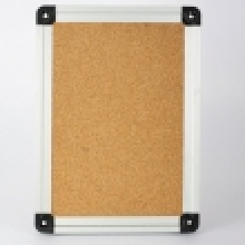 Aluminium Frame White Wood Board