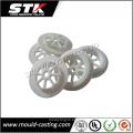 Piezas de moldeo por inyección plásticas de goma de silicio prensado calientes para industrial