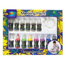 Novo estilo Original magia marmoreio pintura diy ofício