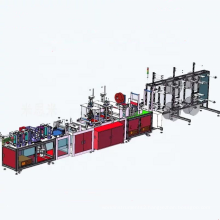 Fully Automatic nonwoven production line N95 medical mask making machine