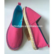 Sapatas de lona clássicas da espadrilha 2016 sapatilhas da borracha das mulheres