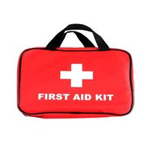 personal emergency red first aid bag/dental first aid kit/300pieces first aid bag
