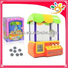 Мини-машина для вставки монет, игрушка для мини-машины, игровая машина с монетами для детей