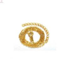 Simples colar de corrente de ouro fino, projetos de corrente de ouro fino