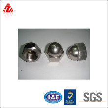 Hex stainless steel dome head cap nut,locking nut