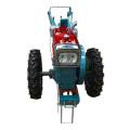 Equipo agrícola del tractor de dos ruedas que camina