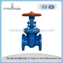 Casting flange end Parallel double disc gate valve