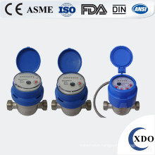 Volumetric stainless steel water meter