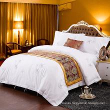 200tc Hotel Bedding Set/Sateen Printed Hotel Bedding
