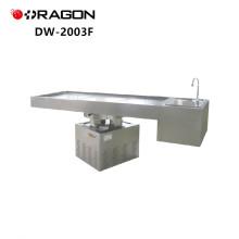 Table de dissection médico-légale puissante de rotation de levage d'acier inoxydable de DW-2003F
