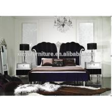 China factory Classical carve villa furniture bedroom BD8024